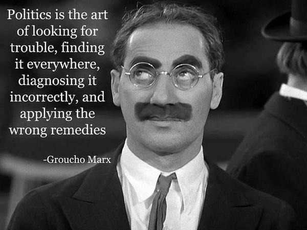 Groucho Marx politics quote