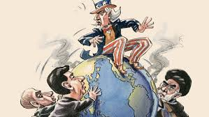 US on top of the world cartoon