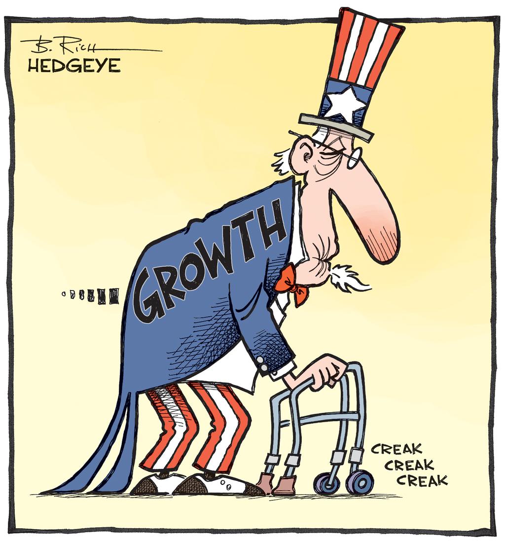 US growth cartoon
