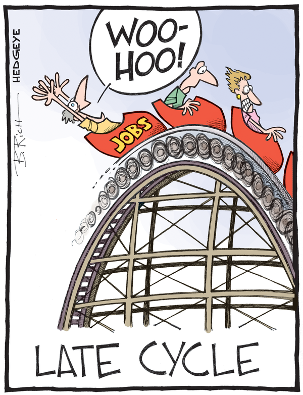 late cycle jobs roller coaster cartoon