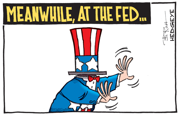 Meanwhile at the Fed Uncle Sam cartoon