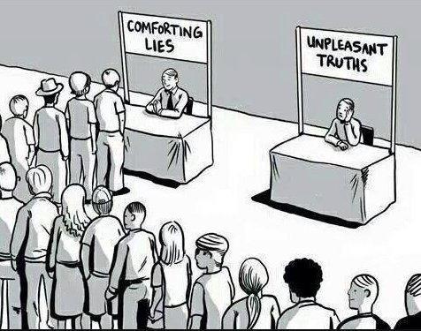 0316comfortingliesUnpleasant truth