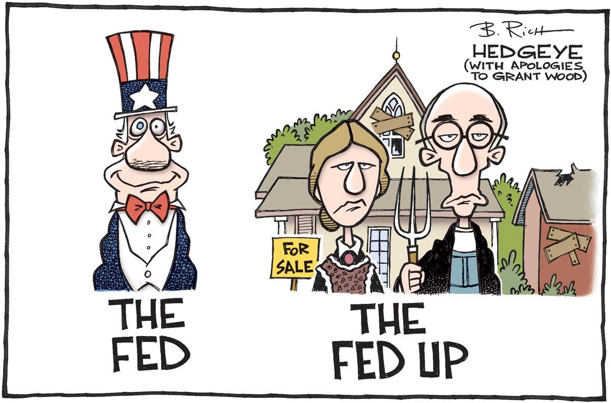 The Fed, The Fed Up, cartoon